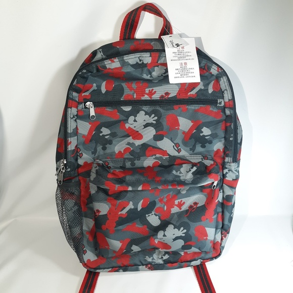 Disney Other - NEW Disney World Land Parks Mickey Mouse backpack